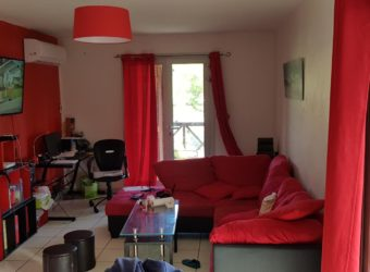 Grand appartement F3 en duplex, Boucan Canot