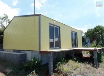 Maison en bois récente, Etang Salé