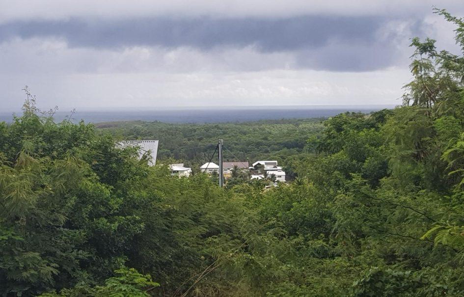 Terrain de 548 m2 avec vue mer et montagne, Etang Salé